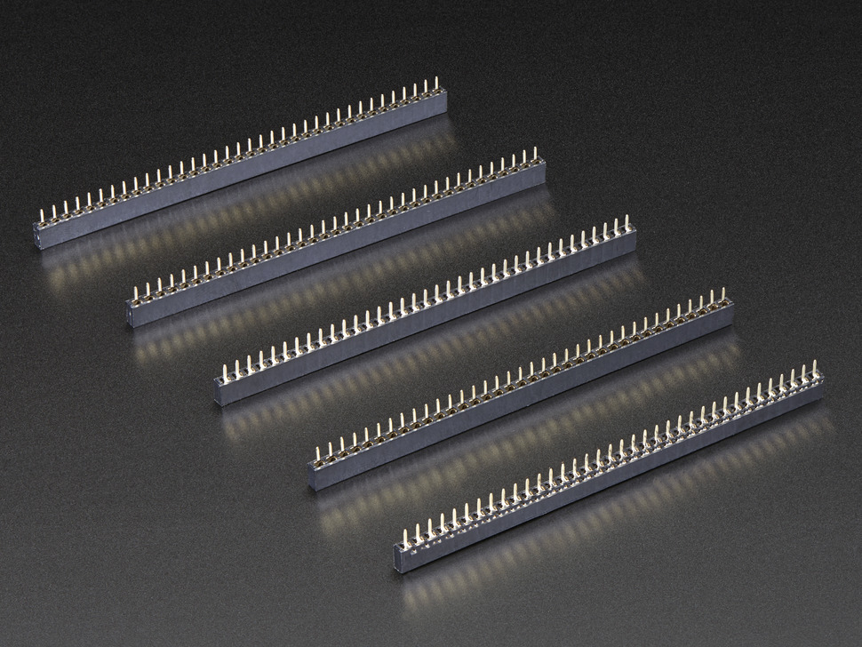 "36-pin 0.1"" Short Female Header - Pack of 5"