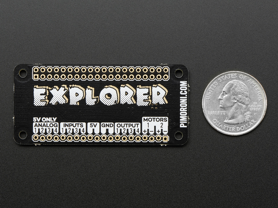 Pimoroni Explorer pHAT for Raspberry Pi Zero