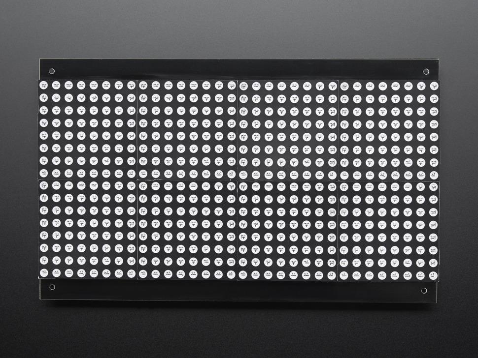 32x16 Red Green Dual Color LED Dot Matrix - 7.62mm Pitch - DE-DP14211