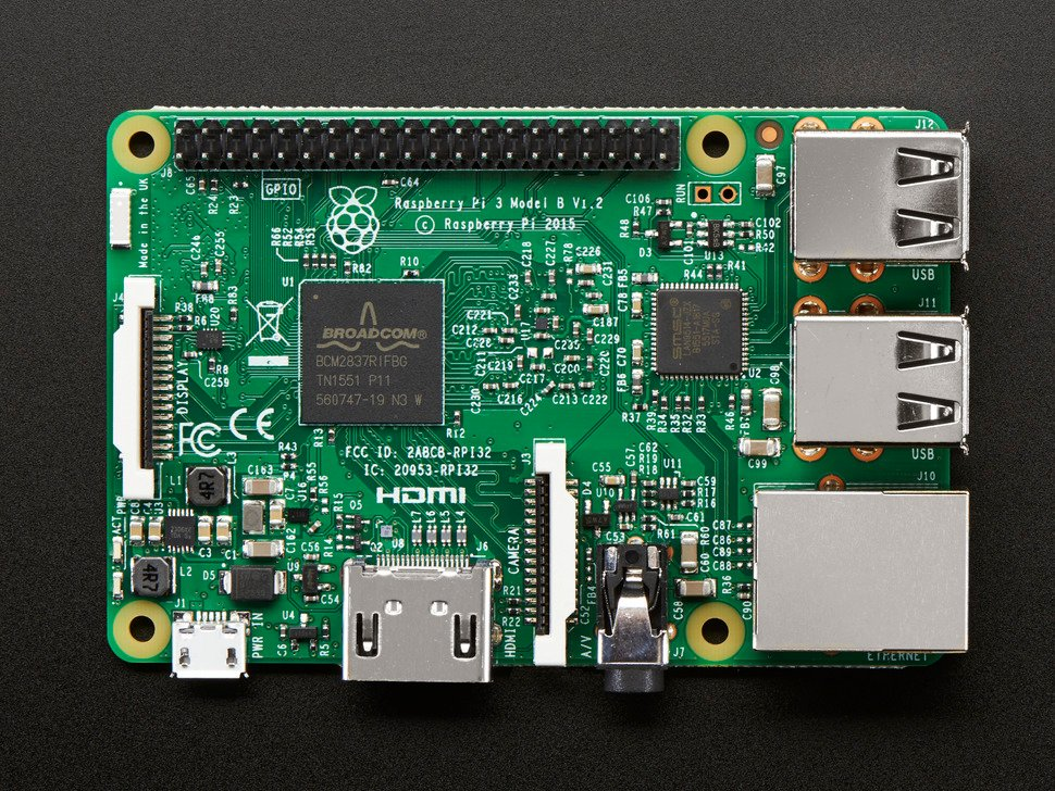 Raspberry Pi 3 - Model B - ARMv8 with 1G RAM