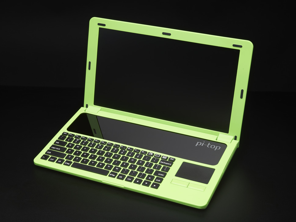Pi Top Green A Laptop Kit For Raspberry Pi B Pi 2