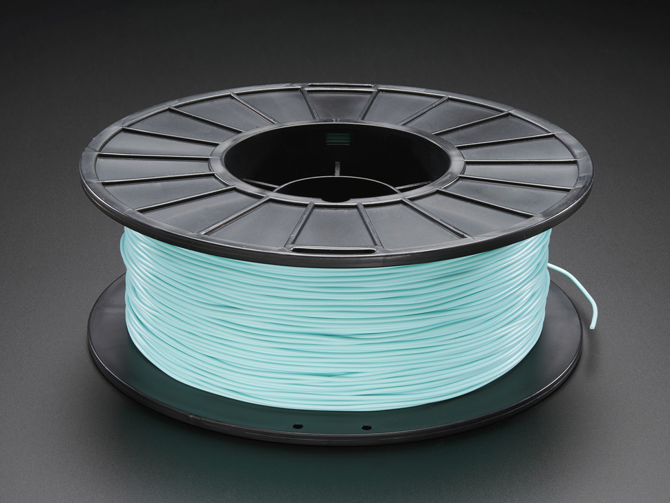 PLA Filament for 3D Printers - 1.75mm Diameter - Teal - 1KG