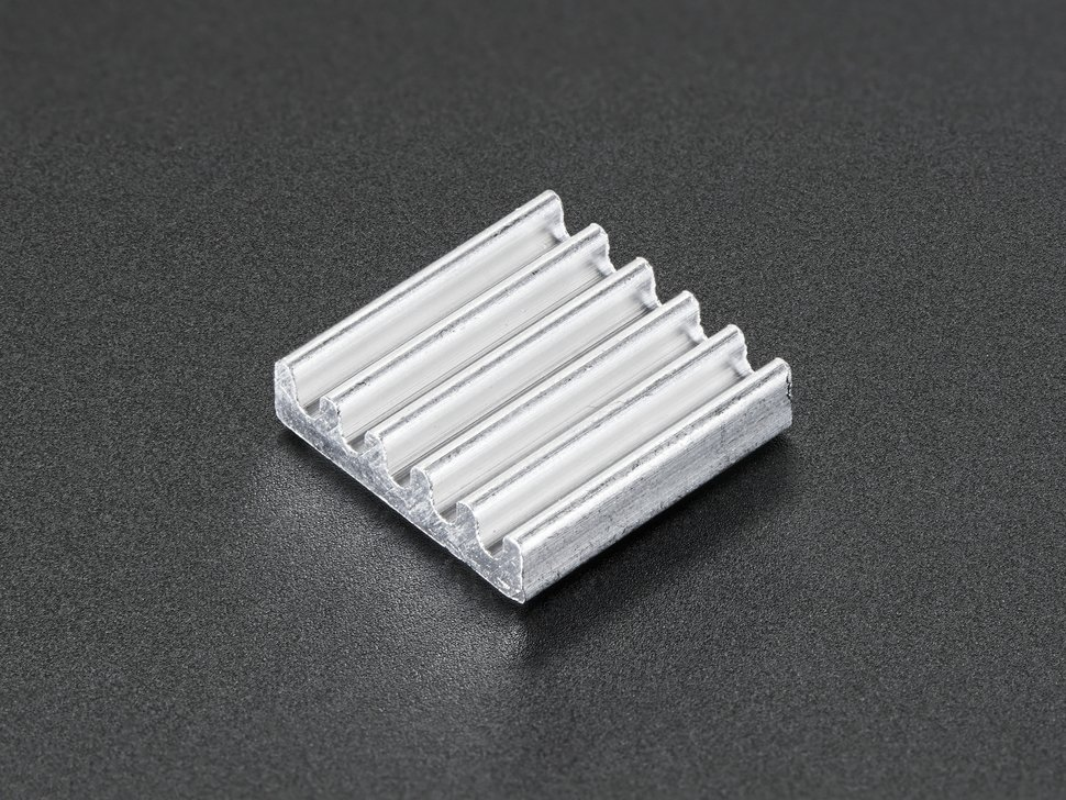 Mini Aluminum Heat Sink for Raspberry Pi - 13 x 13 x 3mm