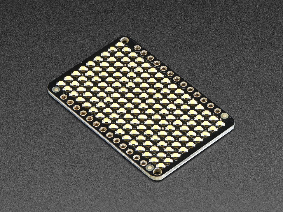 LED Charlieplexed Matrix - 9x16 LEDs - Warm White