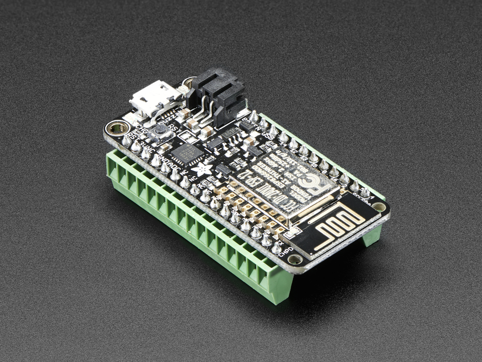 "Terminal Block kit for Feather - 0.1"" Pitch"