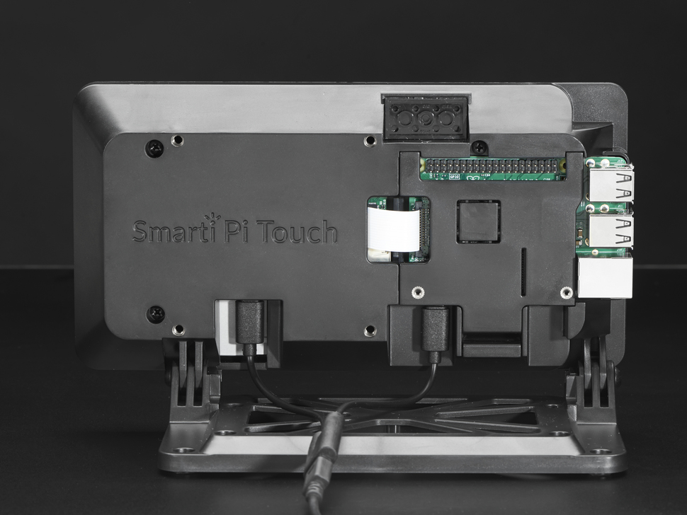 Back of assembled Smarti Pi Touch display.