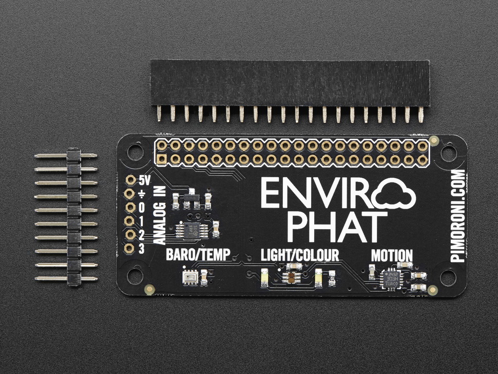 Pimoroni Enviro pHAT for Raspberry Pi Zero