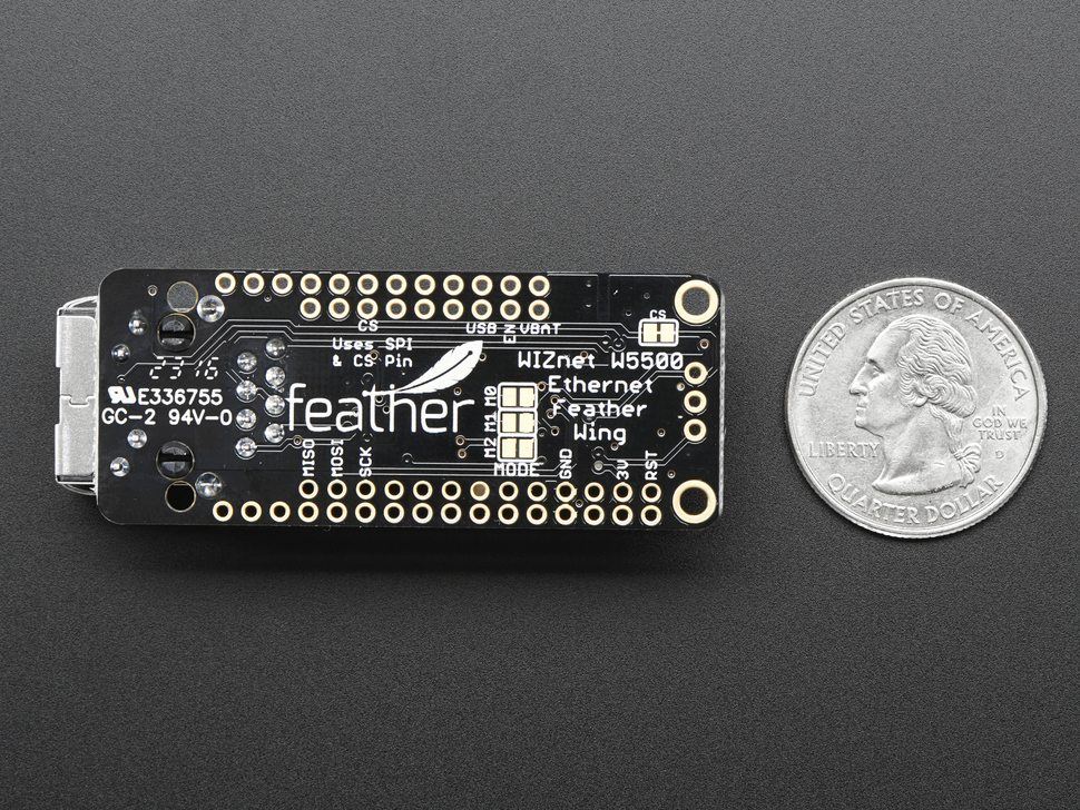 Adafruit Ethernet FeatherWing