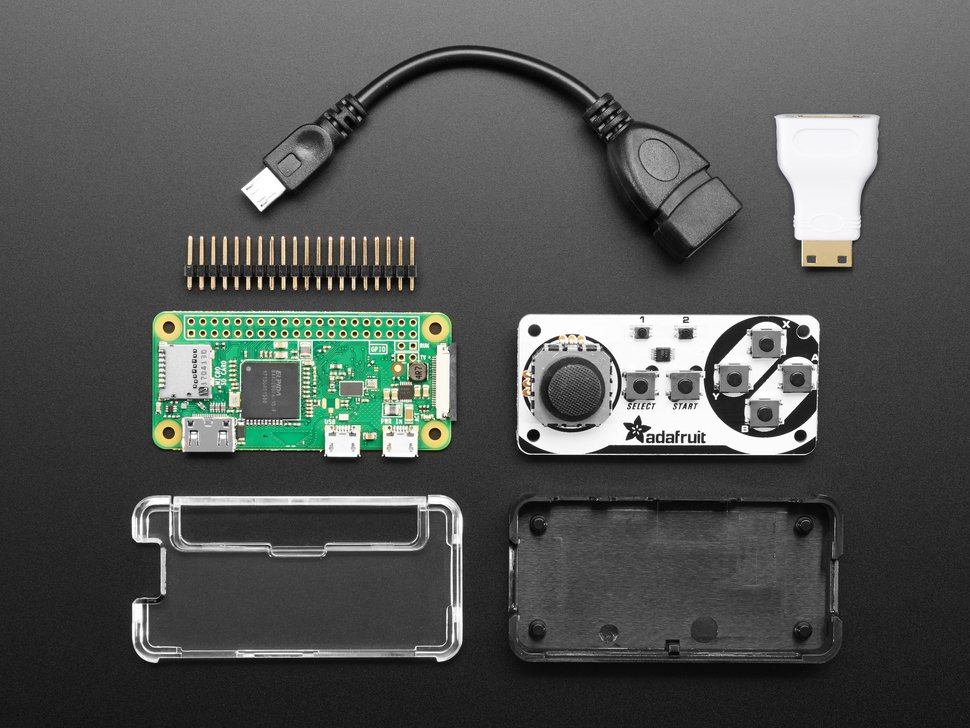 Joy Bonnet Pack for Raspberry Pi Zero - Includes Pi Zero W