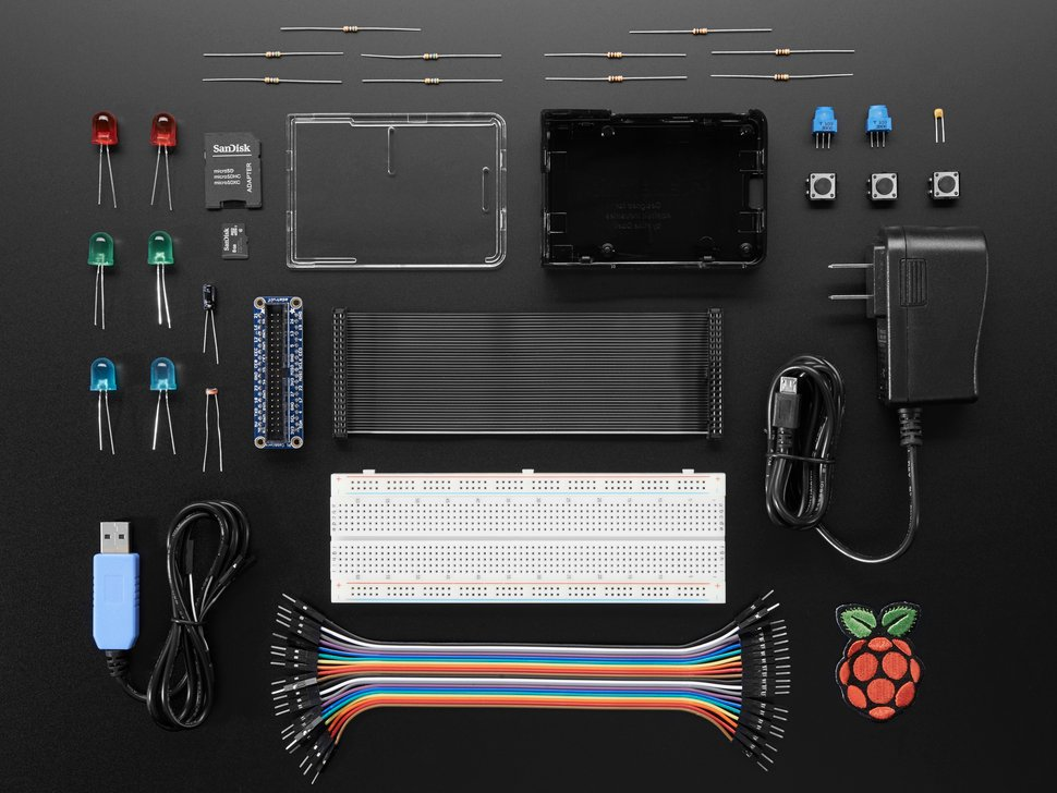 Raspberry Pi 3 Model B Starter Pack (Without Raspberry Pi)