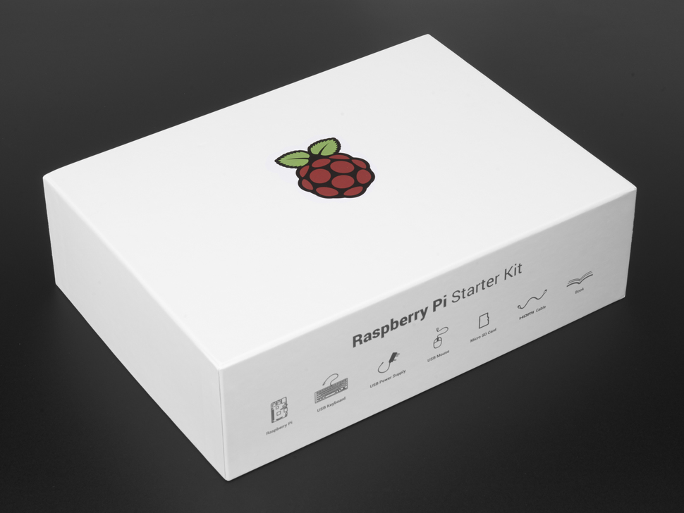 Raspberry Pi Foundation Starter Kit with Pi 3