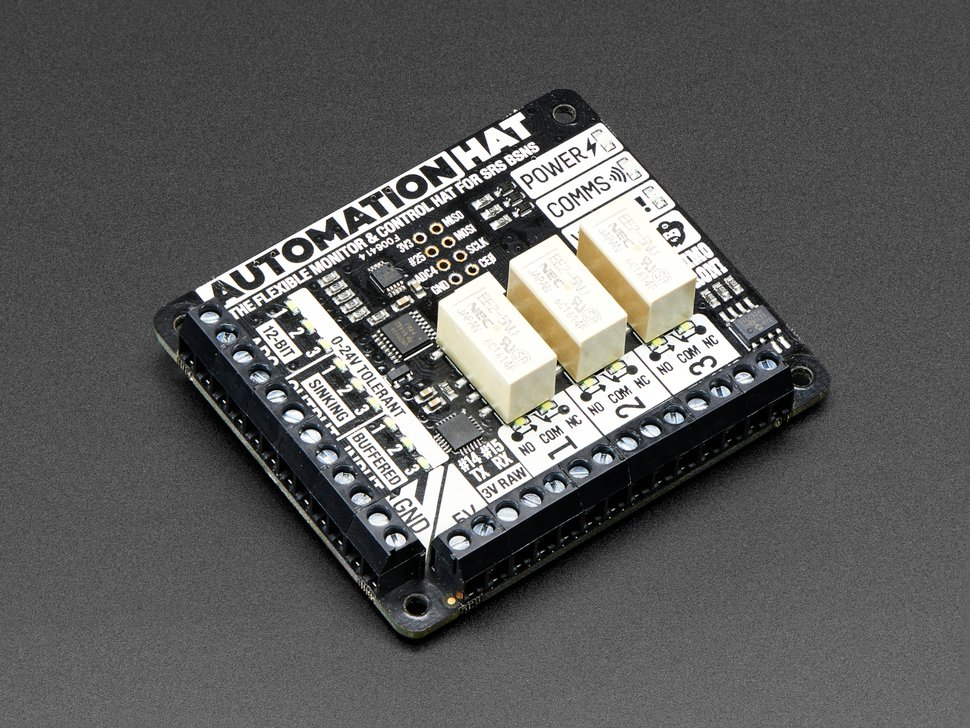 Pimoroni Automation HAT for Raspberry Pi