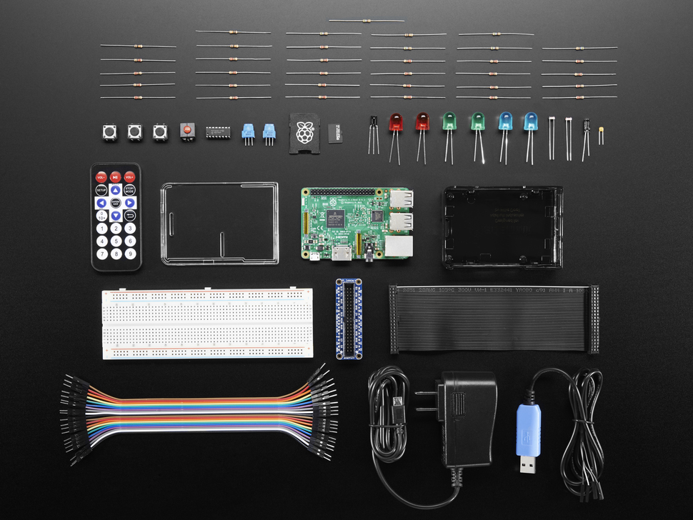 Particle IoT Starter Pack for Raspberry Pi - Includes Pi 3
