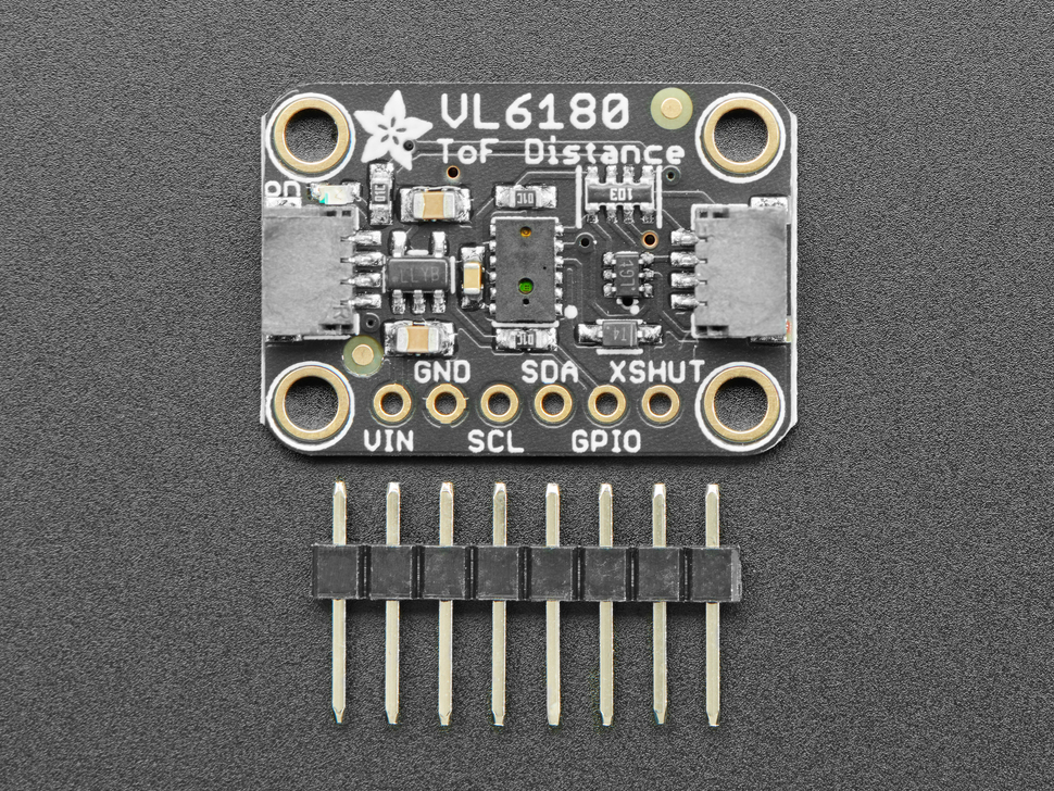 Adafruit VL6180X Time of Flight Distance Ranging Sensor (VL6180) - STEMMA QT