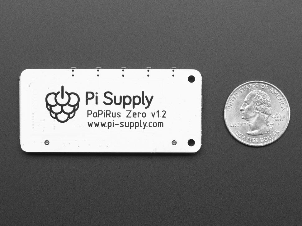 Pi Supply PaPiRus Zero ePaper/eInk pHAT v1.2