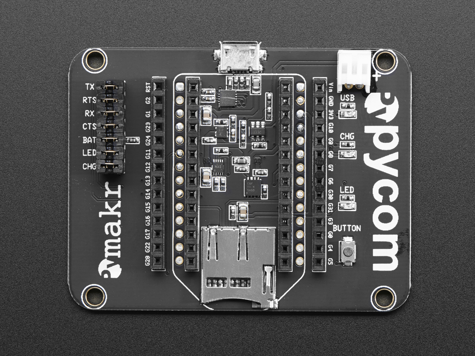 Expansion Board 2.0 for Pycom IoT Development Boards