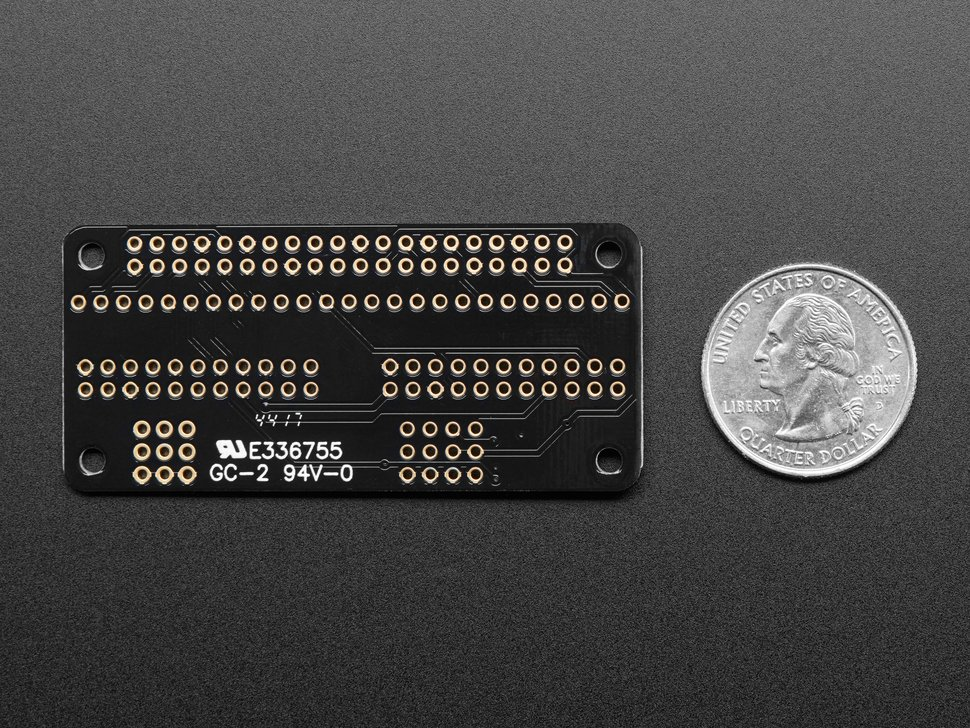 Adafruit Animated Eyes Bonnet for Raspberry Pi Mini Kit - Without Displays