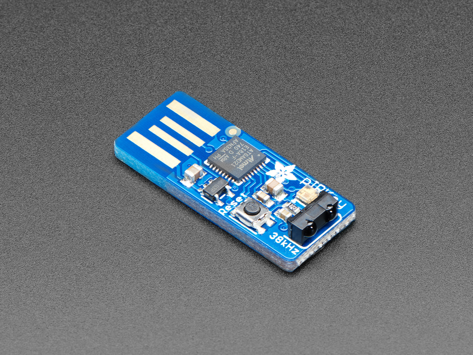 Adafruit pIRkey - a Python Programmable InfraRed USB Adapter