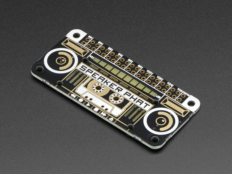 Pimoroni Speaker pHAT for Raspberry Pi Zero