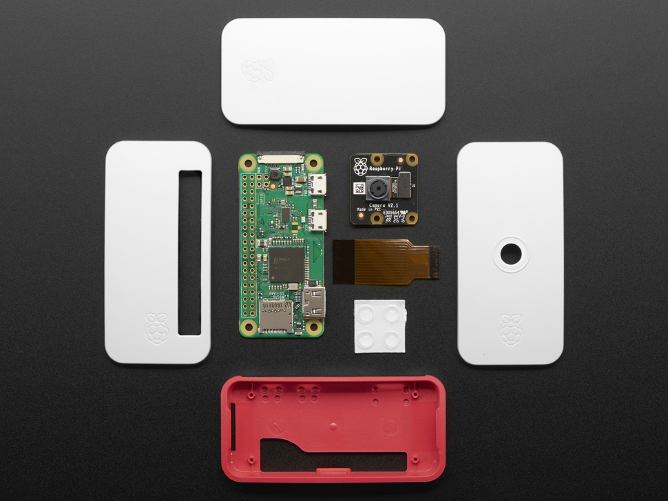 Raspberry Pi Zero W NoIR Camera Pack - Includes Pi Zero W
