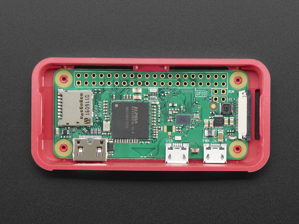 Pi Foundation Raspberry Pi Zero Case + Mini Camera Cable