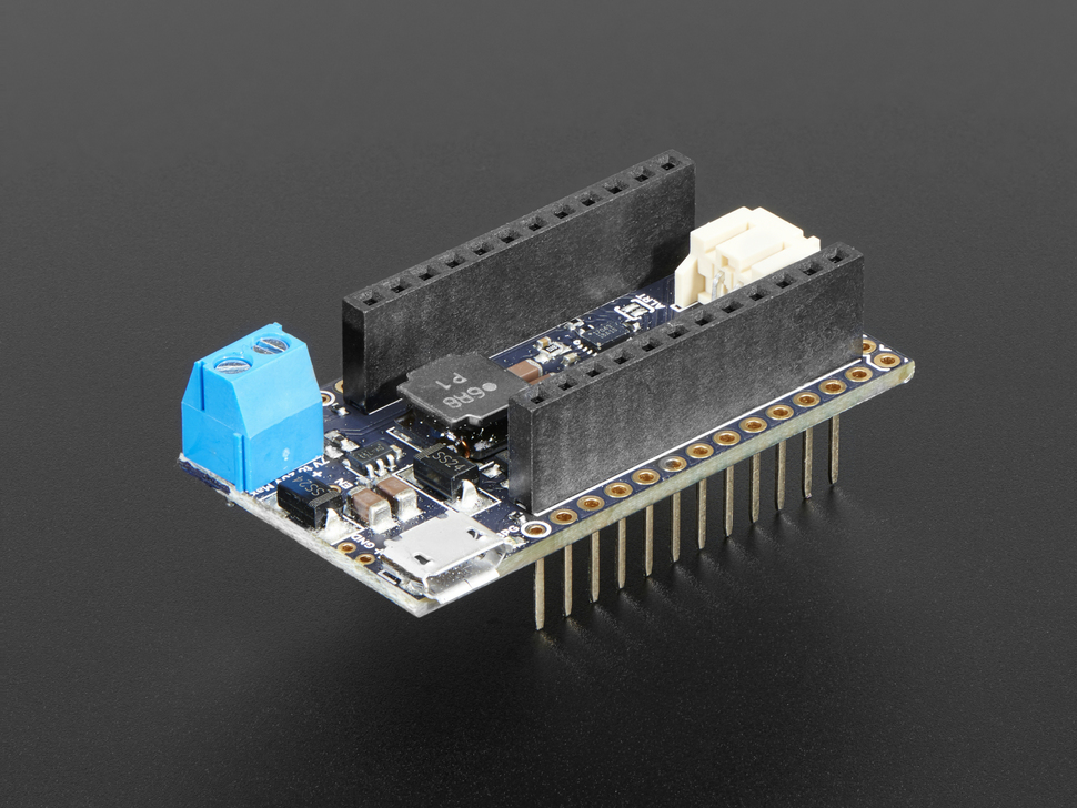 Particle Power Shield with Headers