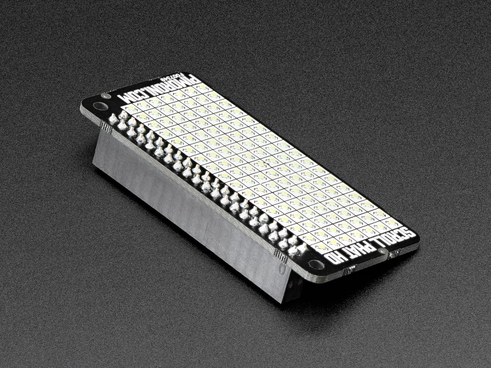 Pimoroni Scroll pHAT HD – LED Matrix for Raspberry Pi Zero