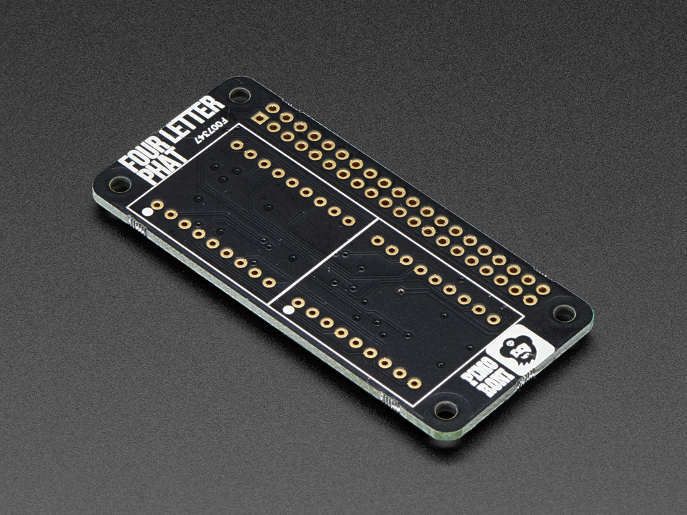 Pimoroni Four Letter pHAT for Raspberry Pi Zero
