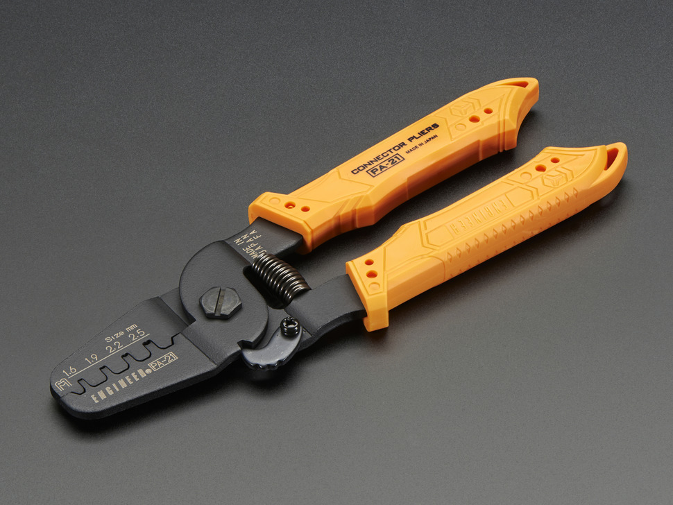 Universal Crimping Pliers - 1.6 to 2.5mm Size Contacts - PA-21