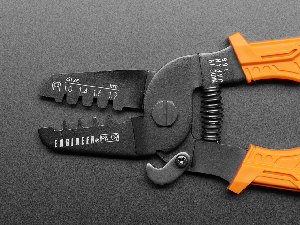 Universal Micro Crimping Pliers - 1.0 to 1.9mm Size Contacts - PA-09