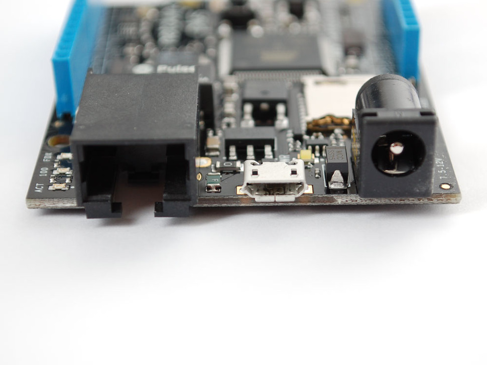 netduino Plus (.NET-programmable microcontroller with Ethernet)