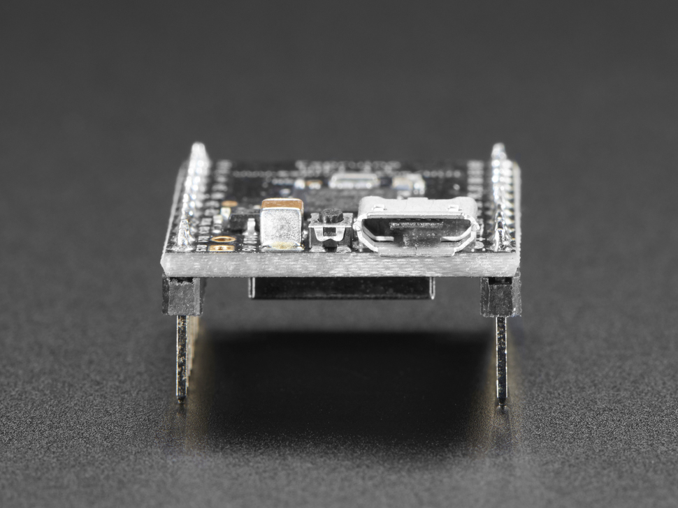 Close up of micro USB