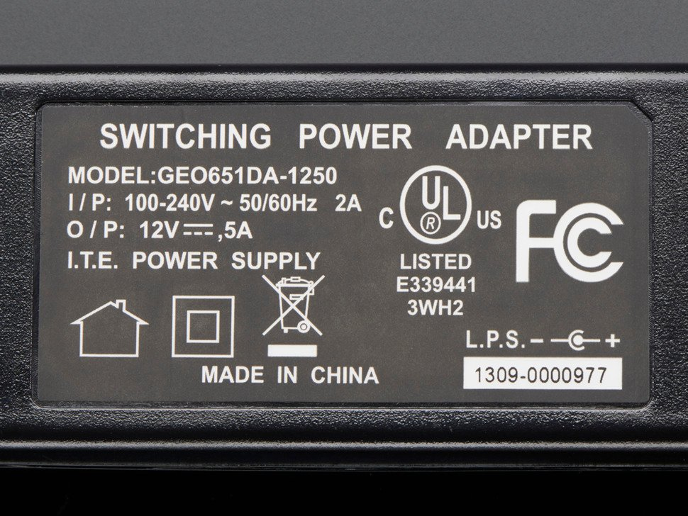 12V 5A switching power supply