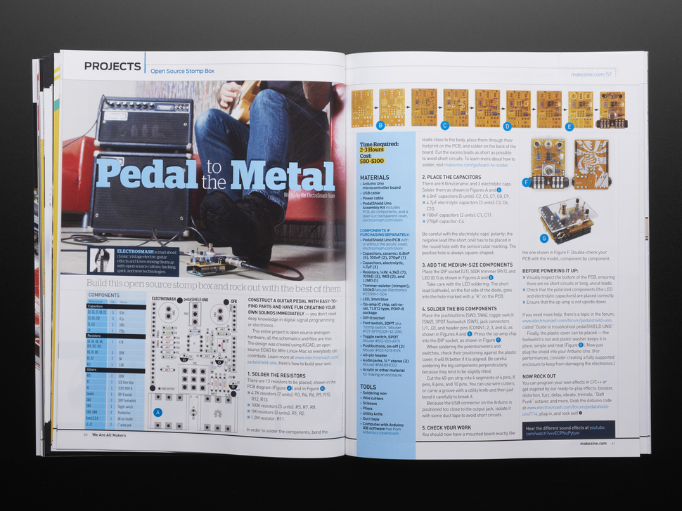 "Make: Magazine - Vol 57 - Signed by Limor ""LadyAda"" Fried"
