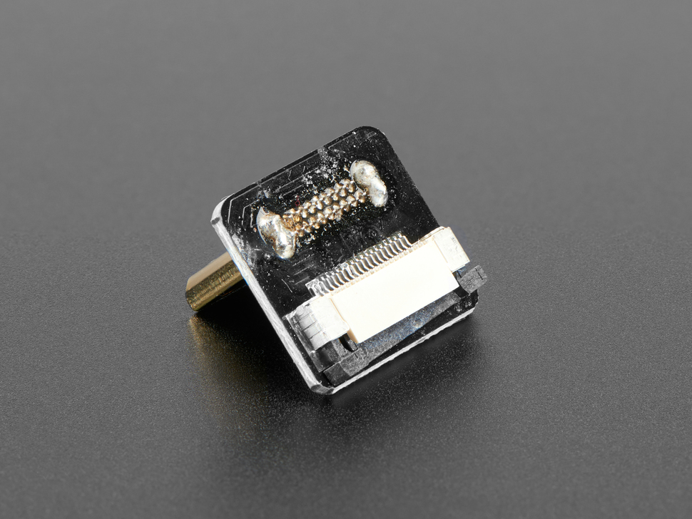 DIY HDMI Cable Parts - Right Angle (R bend) Mini HDMI Plug