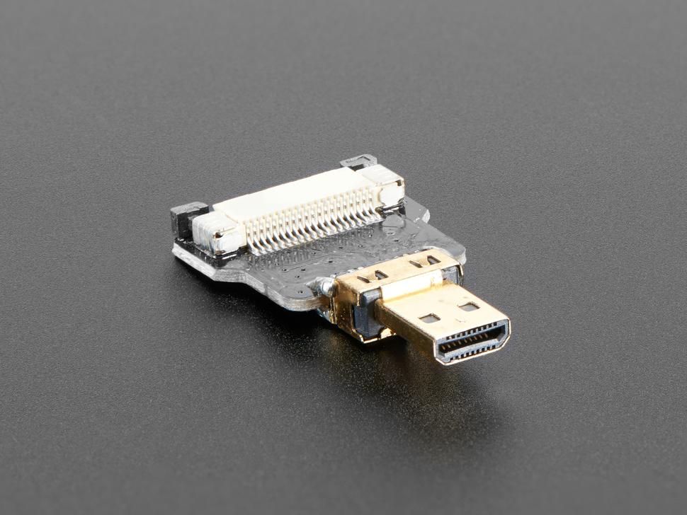 Straight Micro HDMI Plug Adapter