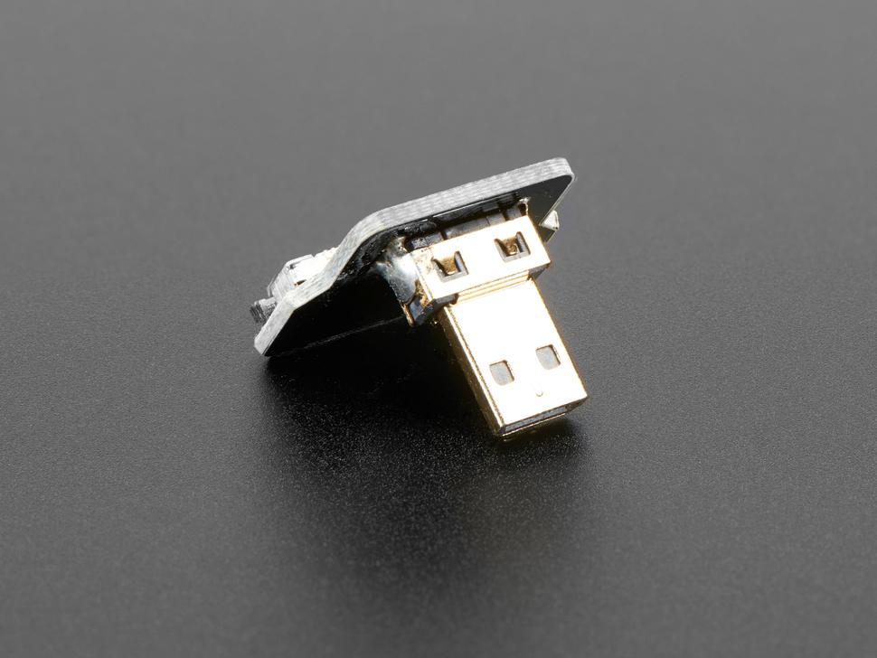 Right Angle (L Bend) Micro HDMI Plug