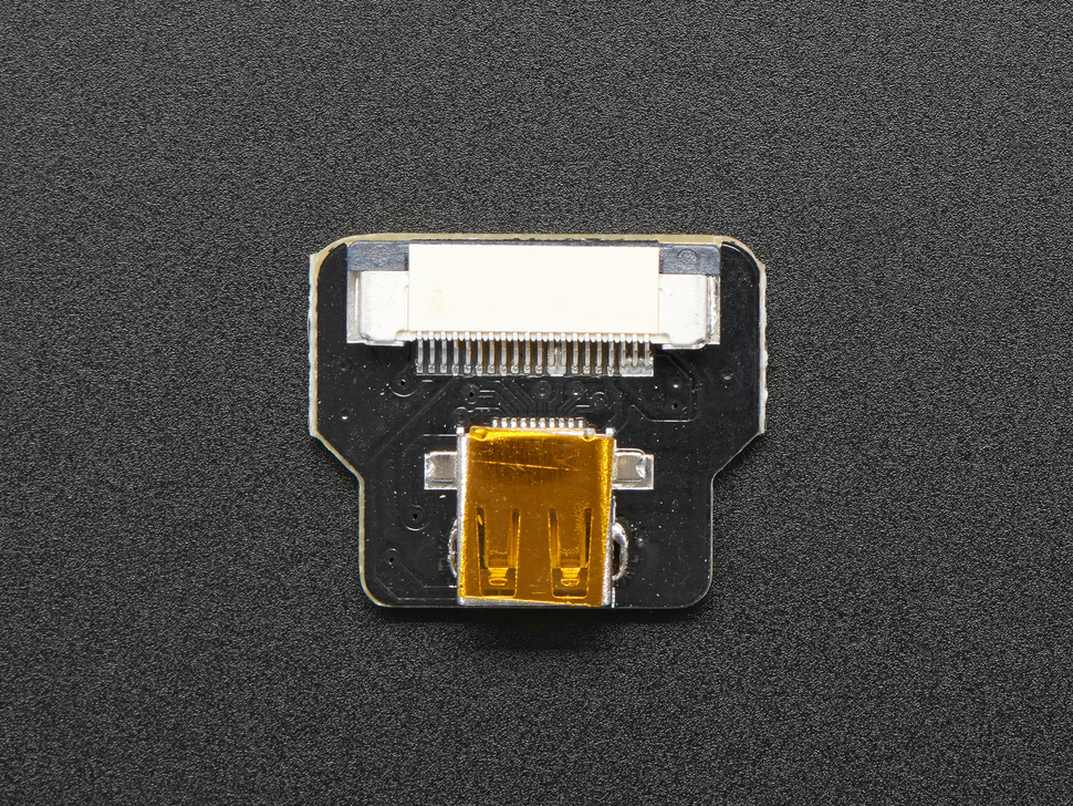DIY HDMI Cable Parts - Straight Micro HDMI Socket Adapter