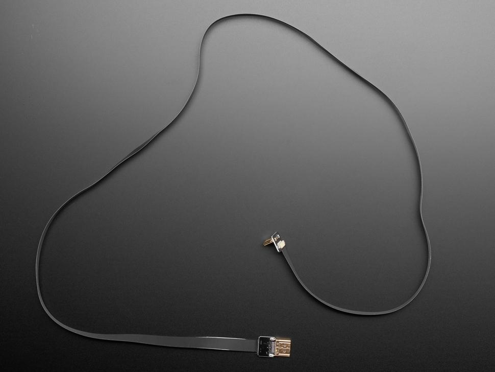 DIY HDMI Cable Parts - 100 cm HDMI Ribbon Cable