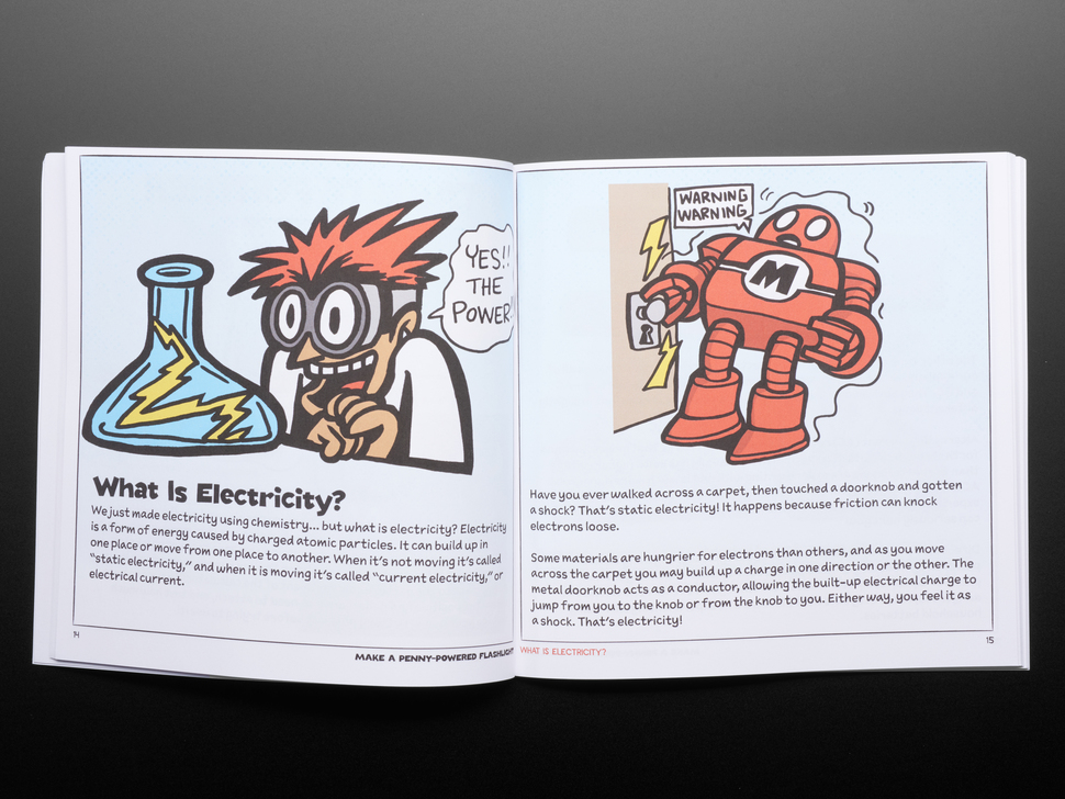 Electricity for Young Makers: Fun & Easy Do-It-Yourself Projects - by Marc de Vinck