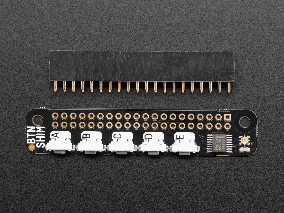 Pimoroni Button SHIM for Raspberry Pi