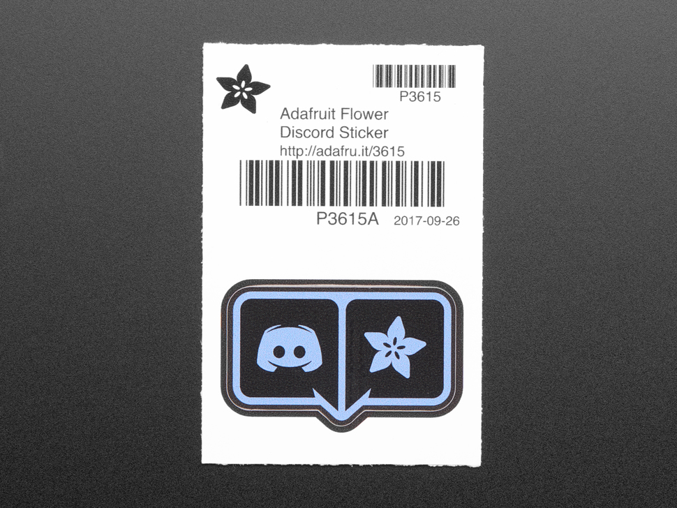 Adafruit Flower Discord Sticker