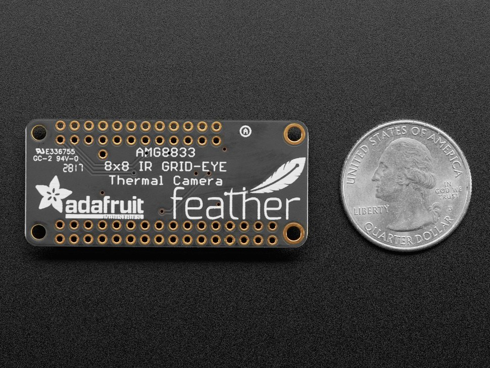 Adafruit AMG8833 IR Thermal Camera FeatherWing