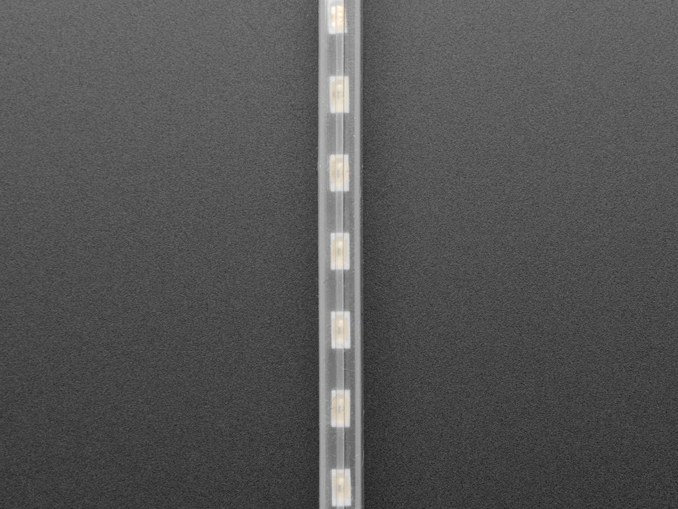 Adafruit NeoPixel LED Side Light Strip - Black 120 LED