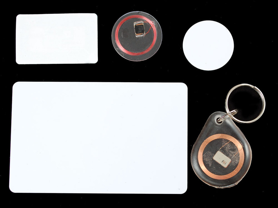 13.56MHz RFID/NFC tag assortment - Classic 1K