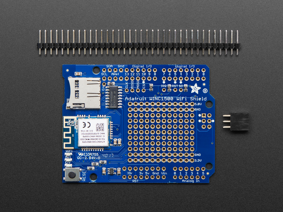 Adafruit WINC1500 WiFi Shield with PCB Antenna