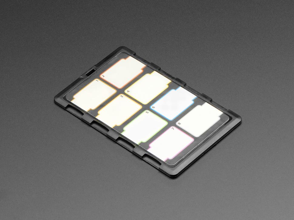 DiMeCard 8 microSD Card Holder