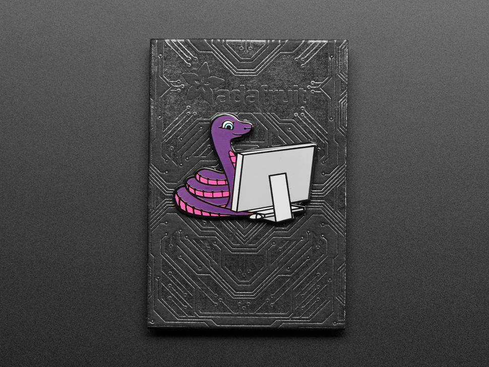 Blinka the CircuitPython Limited Edition Enamel Pin