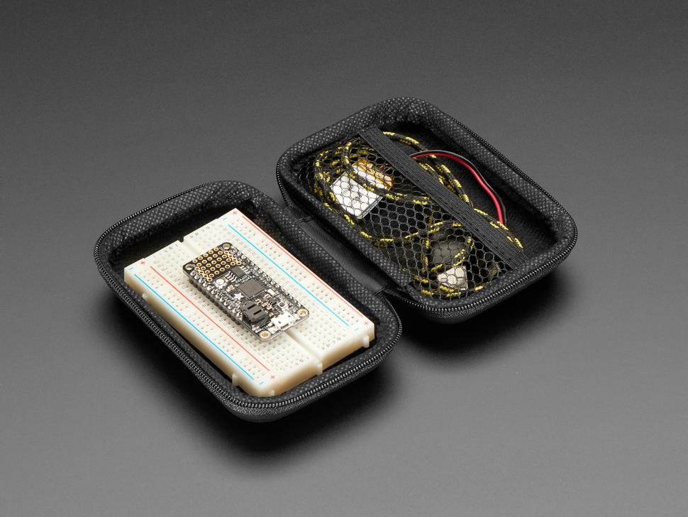 Maker-Friendly Zipper Case - Black