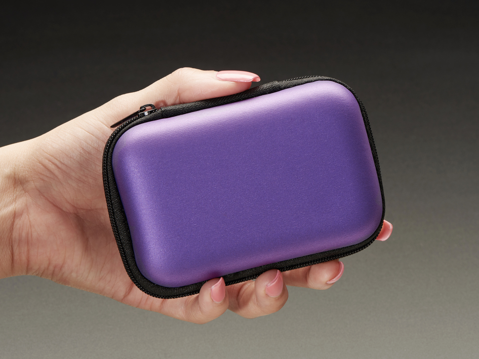 Maker-Friendly Zipper Case - Purple